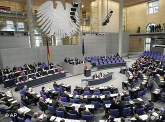 جلسهی مجلس آلمان