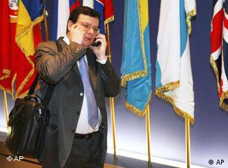 Министр иностранных дел Чехии Александр Вондра против прямого вмешательства ЕС в конфликт между Россией и Украиной
