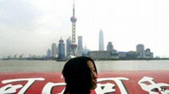 Wolkenkratzer in Shanghai