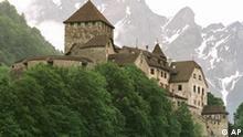 Liechtenstein Burg in Vaduz
