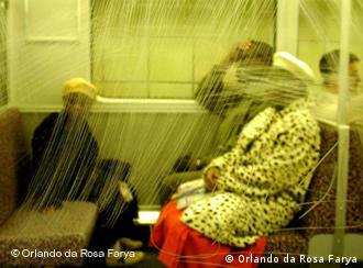 Metrô de Berlim pelas lentes de Orlando da Rosa Farya