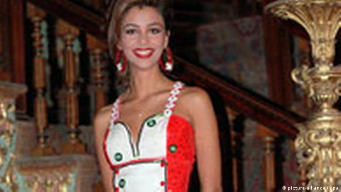 Verona Feldbusch - Miss Germany 1993 (picture-alliance / dpa)