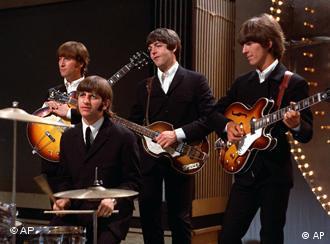 Ein Porträtbild der Beatles