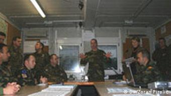 EUFOR soldiers in Bosnia