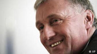 Czech Republic's Prime Minister Mirek Topolanek