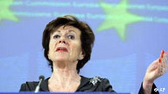 EU Commissioner for Competition Neelie Kroes