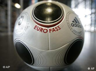 The ball for the Euro 2008 Europass