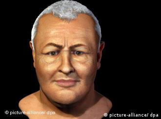 Reconstructed image of JS Bach