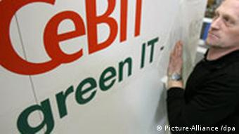 Preparations for Cebit