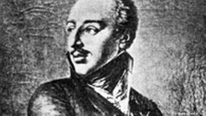 König Gustav IV Adolf von Schweden Kalenderblatt (picture-alliance/ dpa)