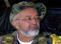 Raúl Reyes, guerrillero ultimado por el ejército de Colombia.