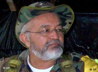 Raul Reyes, second in command of Colombia's guerrilla rebels FARC