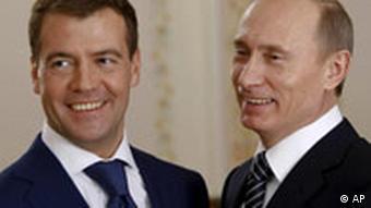 Putin and Medvevev