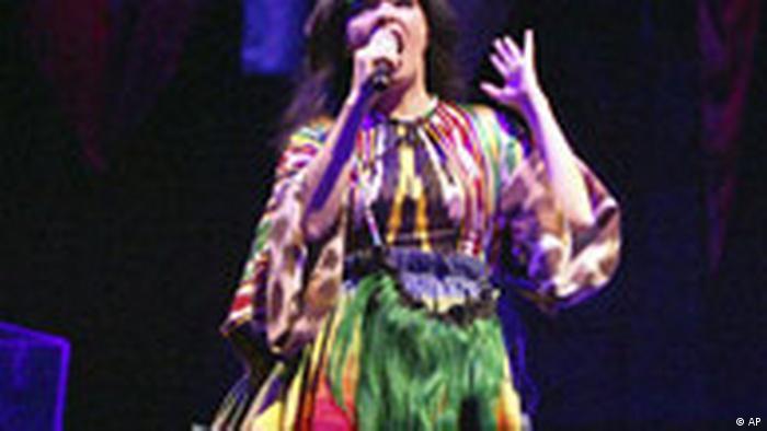 BdT China Björk in Schanghai zu Tibet (AP)