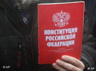 Oppositionelle fordern Verfassungsrecht ein