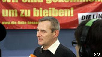 Ulrich Wilken, chairman of the Left party in Hesse