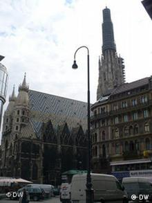 Stephansdom in Wien, Europameisterschaft 2008