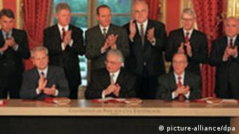 Potpisivanje Dejtonskog sporazuma (1995.)