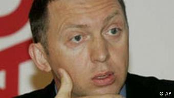 Oleg Deripaska russischer Milliardär