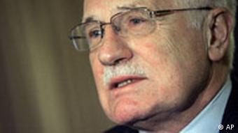 Vaclav Klaus in New York