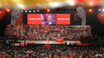 Spanien Wahlkampf Zapatero