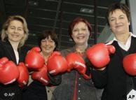 Además de la canciller, en el gobierno alemán figuran cuatro ministras.