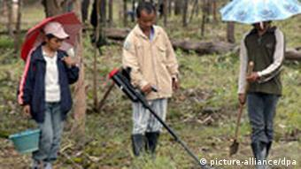 Demining is an extremely dangerous task that has to be done with great precision