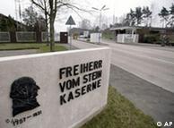 La instrucción en el cuartel de Freiherr vom Stein incluía descargas eléctricas.