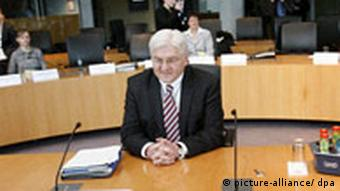 Steinmeier at the parliamentary committe investigating CIA renditions