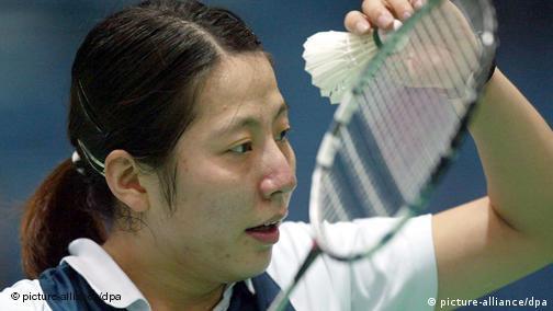 Huaiwen Xu ist deutsche Meisterin im Badminton