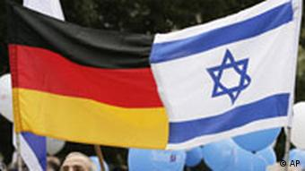 German and Isreali flags