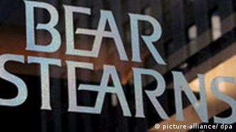 Bear Stearns Logo, US-Investmentbank in Not, JP Morgan Chase & Company