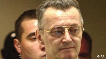 Kriegsverbrecherprozess gegen Franko Simatovic
