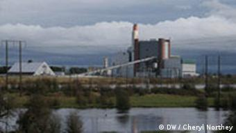 West Offaly Peat-Fired Power Station in Ireland (DW / Cheryl Northey)