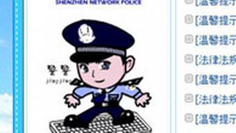 Ein kleiner Comic-Polizist soll Chinas Internetnutzer vor vermeintlich falschen Web-Angeboten warnen, Quelle: DW