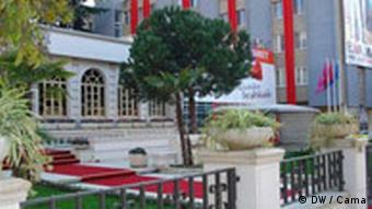 Hauptsitz der Sozialistischen Partei Albanien (DW / Cama)