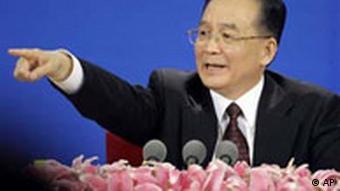 Premierminister China Wen Jiabao