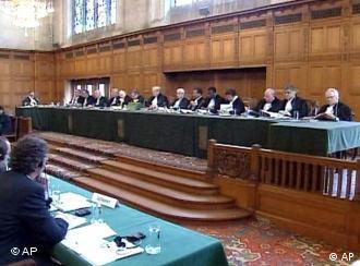 Corte Internacional de Justiça, em Haia