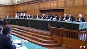 Internationaler Gerichtshof in Den Haag