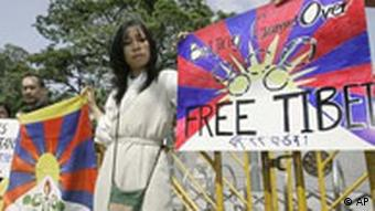 Tibet protests in Thailand