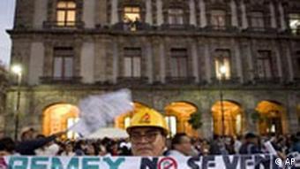 Mexiko 70 Jahre Verstaatlichung der Ölindustrie (AP)
