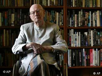 Arthur C. Clarke, Quelle: AP