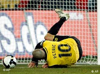 Mladen Petric, del Borussia Dormund.