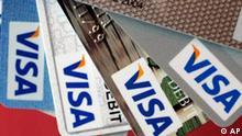 Börsengang von Visa, Kreditkarten