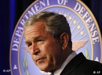 Präsident Bush spricht über Global War on Terror, Krieg gegen den Terror
