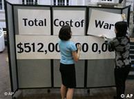 Irak: costos de la guerra suman 512 mil millones de dólares, según estudiantes de Atlanta.