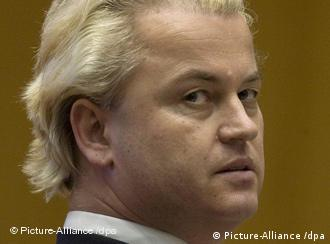 Geert Wilders, leader of the parliamentary Party for Freedom