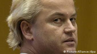 Geert Wilders, leader of the Party for Freedom