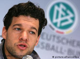 Germany captain Michael Ballack