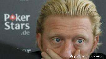 Former tennis star Boris Becker